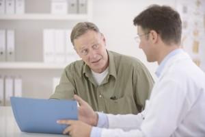 Eine Verdachtsdiagnose kann bei Hämorrhoiden schnell gestellt werden