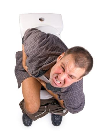 Probleme auf der Toilette