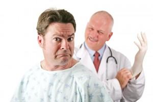 Es gibt sogar für Hämorrhoiden einen Facharzt (Quelle: Bigstock-ID-29642117-by-lisafx)